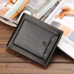 Freies verschiffen 2020 neue stilvolle Herren Brieftasche Karten-kupplung Cente Bifold Geldbeutel, echtes kuh Leder, brieftasche männer WB4