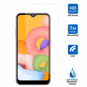 Image 2 - Screen Protector Glas Für Samsung Galaxy A50 A20 A30 A10 A40 Telefon Film Gehärtetem Glas für Samsung Galaxy A10S A30S a50S Glas