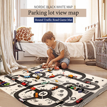 Carpet Blanket Play-Mat Activity Foldable Baby Rug Game Educational-Toy Crawling Soft