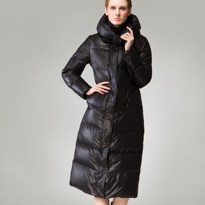 Warm Brand 90% White Duck Down Winter Jacket Women Parka 2020 High Quality European Thick Long Hood Jackets For Women HJ574 S
