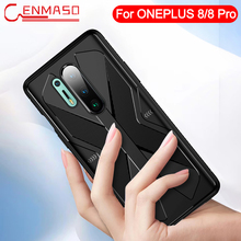 One Plus 8 Pro Case for Oneplus 8 Pro Carbon Fiber Texture Full Protective Back Case for Oneplus 8 Shockproof Armor Cover Case
