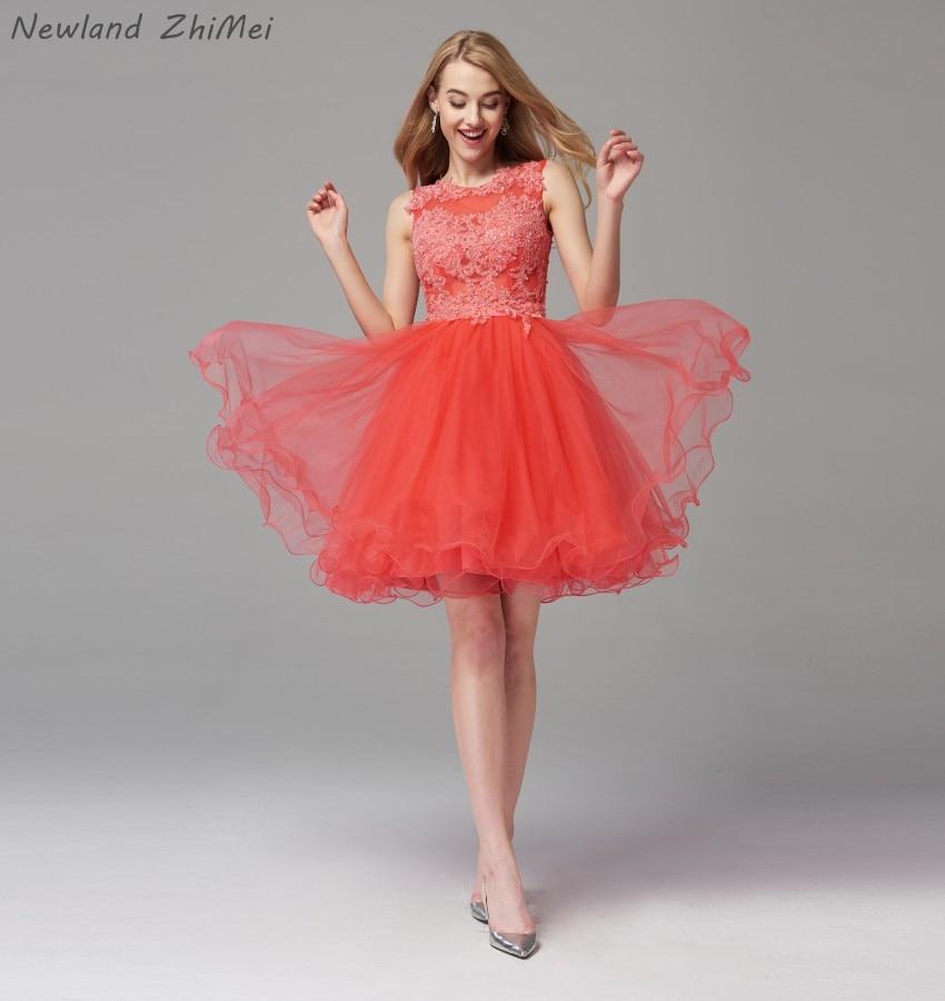 Новое поступление 2020 оранжевое красное коктейльное платье, элегантное платье с аппликацией из бисера и тюля, сексуальное платье с открытой