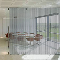 HOHOFILM Stripe line 1.52x30m Window Sticker Film Self Adhesive Removable Decorative House/office Glass Window Film Roll