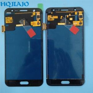 Image 4 - 10 sztuk/partia Test LCD do Samsung Galaxy J500 J5 2015 J500Y J500M J500F wyświetlacz LCD ekran dotykowy Digitizer zgromadzenie dostosuj LCD