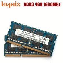 Набор микросхем Hynix 2 ГБ 4 ГБ 8 ГБ PC3L 12800S DDR3 2G 4G 8G 1600 МГц память для ноутбука модуль ОЗУ SODIMM