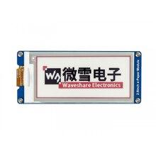 Waveshare-Pantalla de tinta electrónica de 296x128 2,9 pulgadas, interfaz SPI de papel electrónico de tres colores rojo/Blanco/negro para Raspberry Pi/STM32 3,3 V/5V