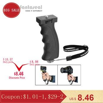 Câmera ergonômico pistola estabilizador de mão aperto montagem para sony canon nikon samsung engrenagem 360 xiaomi yi ação câmera steadycam