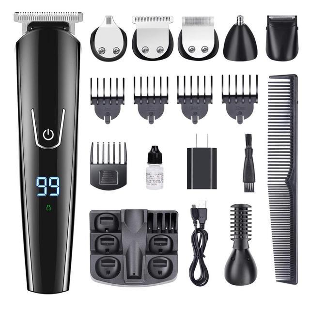 Hair trimmer Professional hair clipper electric hair clipper electric shaver beard trimmer man shaving machine cut nose electric 5