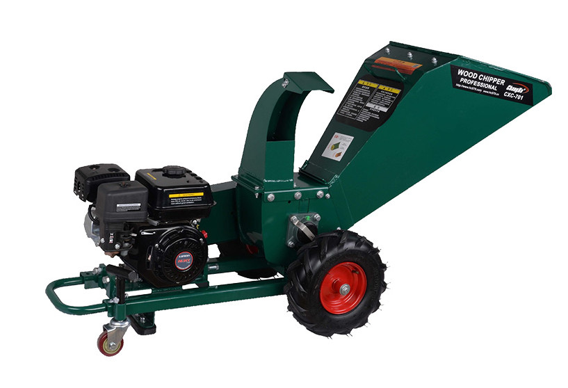Gasoline-powered Wood Chipper, Manual Wood Chipper