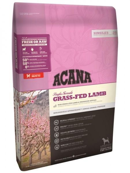 Acana singles grass-fed lamb feed ...