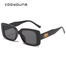 COOYOUNG – lunettes De Soleil carrées pour femmes, marque De luxe, voyage, petites, rectangulaires, à la mode