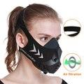 FDBRO Sport Training Laufen Maske Fitness Gym Workout Radfahren Höhe Hohe Höhe Ausbildung Klimaanlage Sport Masken