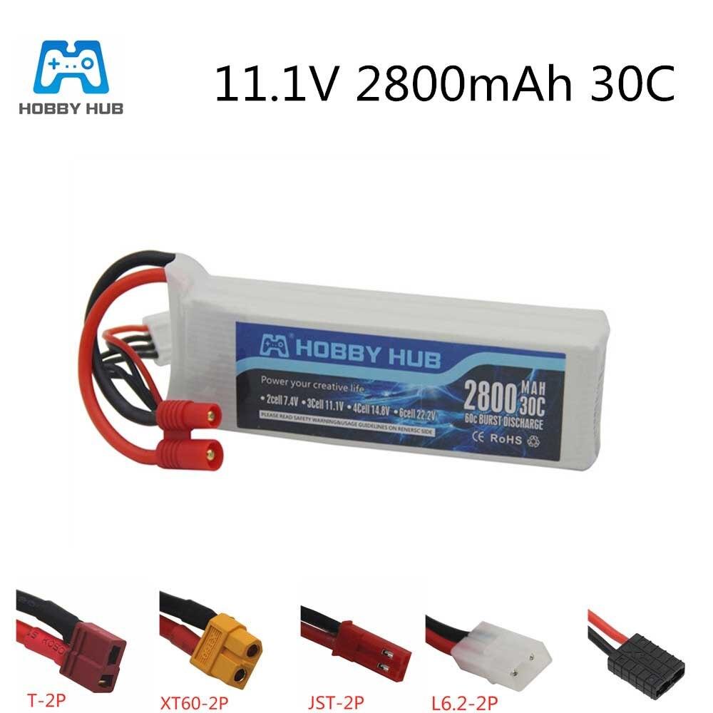 Batería lipo 3s 11,1 v 2800mah para BAYANGTOYS XK X350-015 X16 X21 X22, batería para Drone RC, accesorios, recambios de cuadrirrotor RC