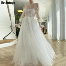 Шикарное Тюлевое свадебное платье в горошек цвета слоновой кости