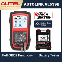 Autel AutoLink AL539B OBD OBD2 Car Diagnostic 12 V Code Reader Battery Analyzer Charging System Scanner Circuit Test Tool