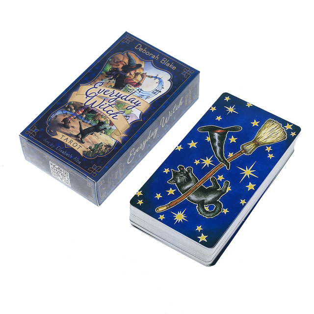 Oracle Everyday Witch Tarot Card Board Deck Games Palying Cards For Party Game 3