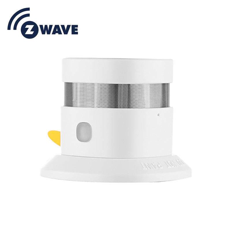 868.42mhz Z-wave Smoke Detector For Smart Home Eu Version Z-wave Smoke Fire Detector Power With Battery Operated