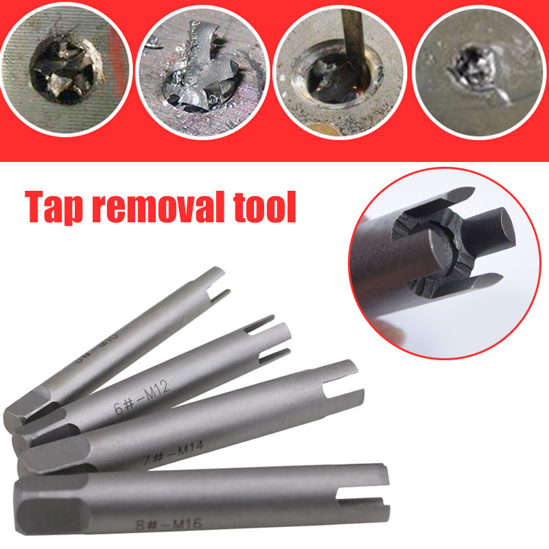 Screw Extractor High Speed Steel 6542 Silver Carpentry Extracting Tool Detail Tap Removal Tool The Nail Puller Parts Component