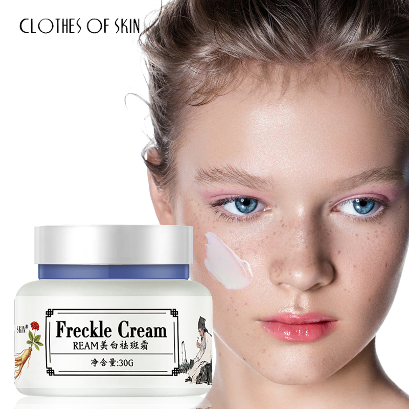 Herbal Freckle Whitening Face Cream vitamin C Anti-Aging Wrinkle Remove Spots Firming Dark Circles Skin Care