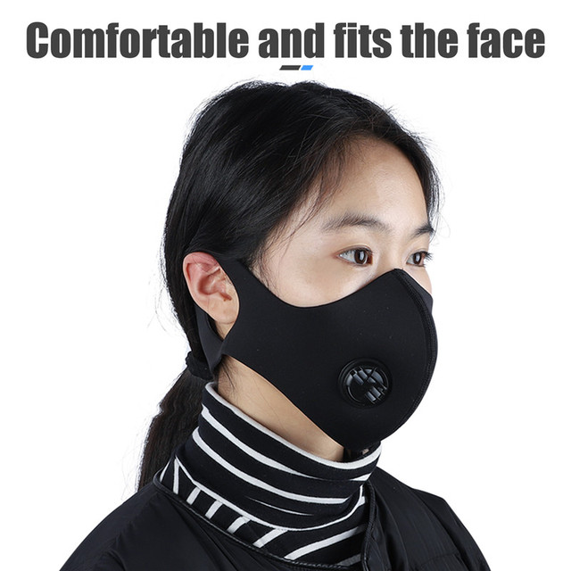 WEST BIKING Cycling Mask Sport Face Mask PM2.5 Anti Pollution Activated Carbon  Filter Training Running Bike Mask 1