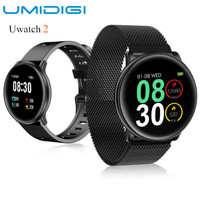 UMIDIGI Uwatch2 Smart Watch 1.33 inch IPS Touch Screen 25 Days Standby IP67 Waterproof BT Sport Smart Wristband for Android iOS