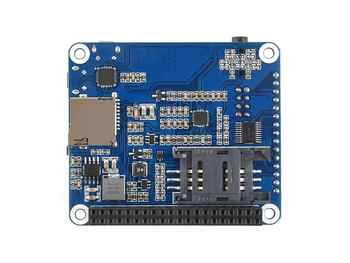 Waveshare 4G/3G/2G/GSM/GPRS/GNSS HAT for Raspberry Pi, Based on SIM7600G-H,LTE CAT4, the Global Version