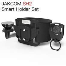 JAKCOM-Conjunto de soporte inteligente SH2 para salpicadero de coche, accesorio para teléfono móvil, mechones, mejor que el aire, universal