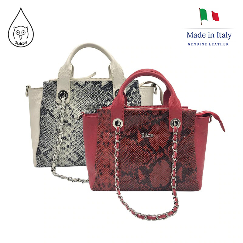 JUICE ,made In Italy, Genuine Leather, Women Bag,Women Small Handbag 112806P