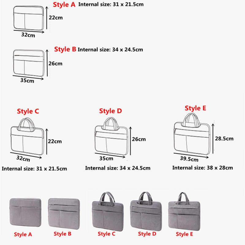 ผู้ชายธุรกิจเอกสารกระเป๋ากันกระแทกโน้ตบุ๊คกระเป๋าแล็ปท็อปกระเป๋าเอกสาร A4 แฟ้มโฟลเดอร์กระดาษกระเป๋าเดินทางอุปกรณ์เสริม