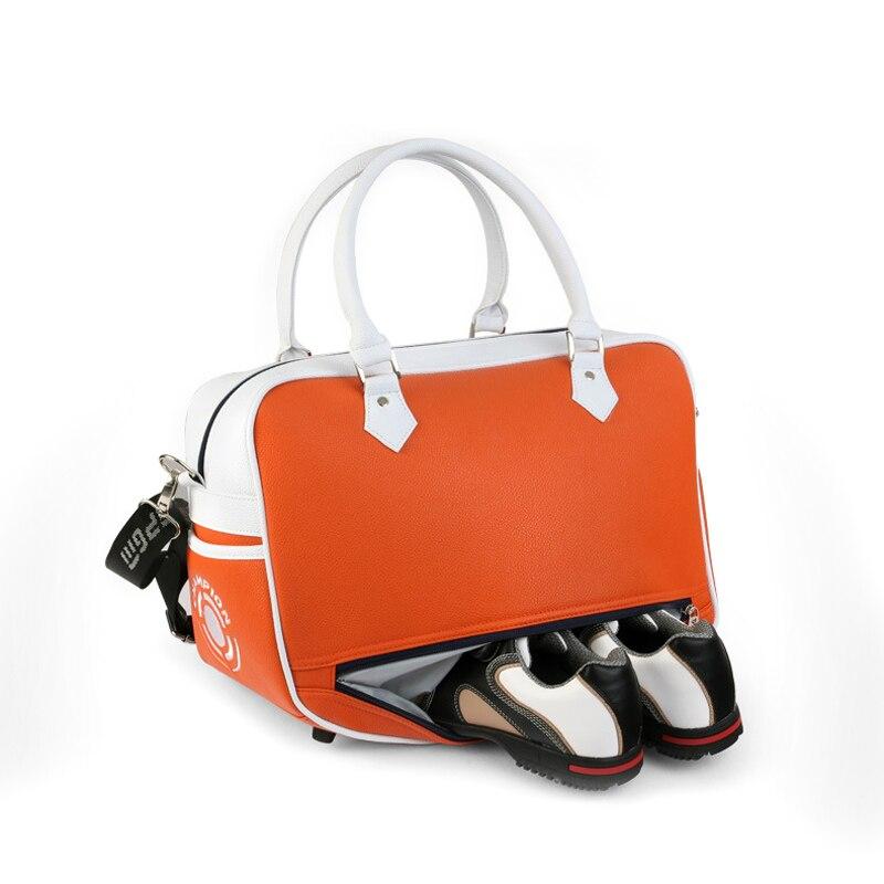 New PGM Brand Golf Bag Golf Clothes Bag Men & Women Shoes Package Box-shaped  Large Capacity Double-deck Clothes Bag 3 Colors