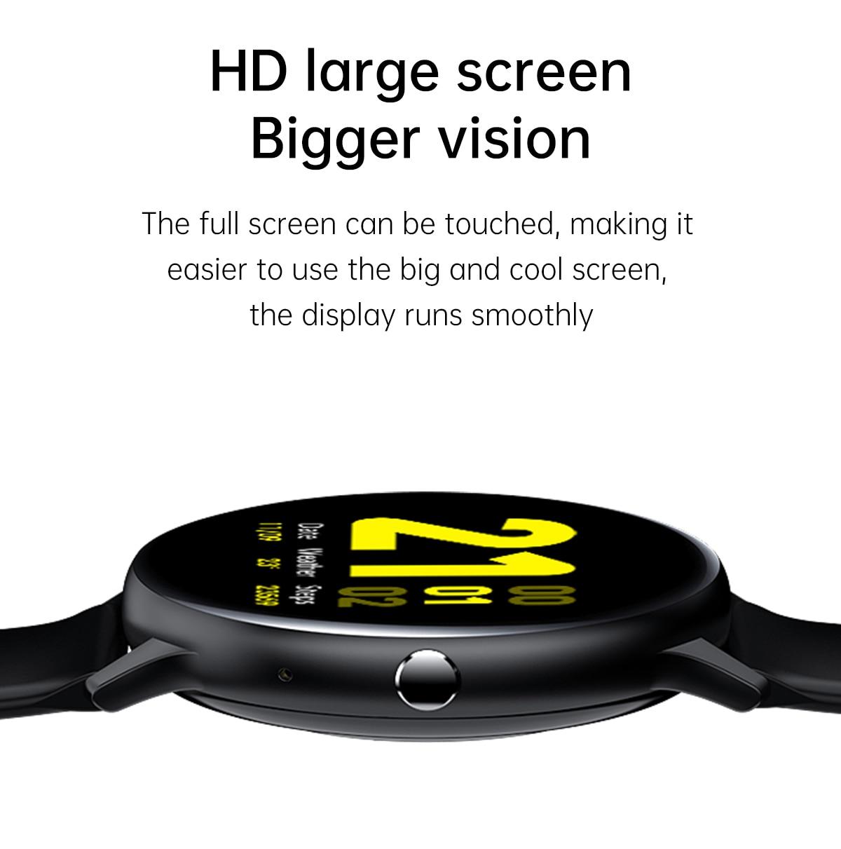 H009519c9b2154fe4be7b82cceef61b663 LIGE 2021 New Bluetooth call smart watch men women Sport mode Heart rate and blood pressure monitor Activity tracker Smartwatch