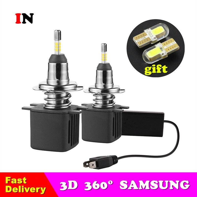 IN H7 H1 Led Bulbs H11 Led Car Headlight D2S D4S H4 H8 9005 HB3 D3S 9006 HB4 D1S Auto Car Led Lamp 10000LM 6500K Fog Lights 12V