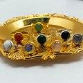 Момиджи ручной работы в богемном стиле, ювелирное изделие, подарок натуральный кольца с настоящими австрийскими кристаллами, женские брасл...