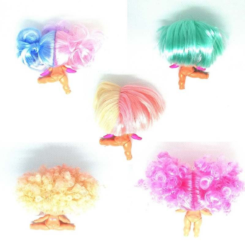 6 Styles Wig Hair For LOLs 8cm Big Sisters Dolls Accessories Can Choose Girls Kids Birthday Gift Limited Collection