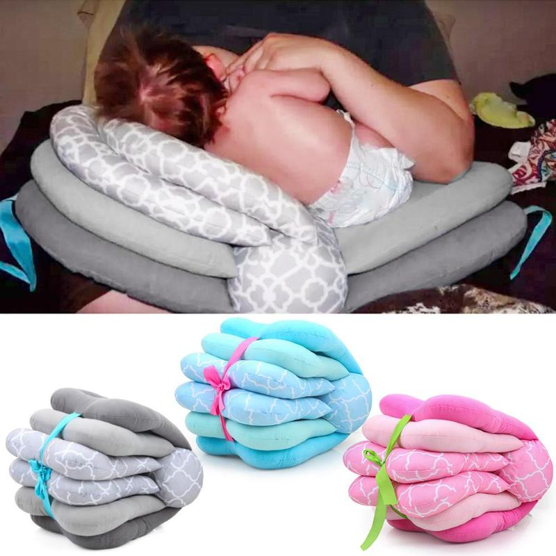 1pc Breastfeeding Baby Plillows Multifunction Nursing Pillow Adjustable Infant Feeding Pillows Baby Bedding Accessories 2019 New