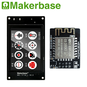 Image 3 - Makerbase MKS TFT32  touch screen smart display controller  3d printer parts 3.2 inch full color support wifi wireless Control