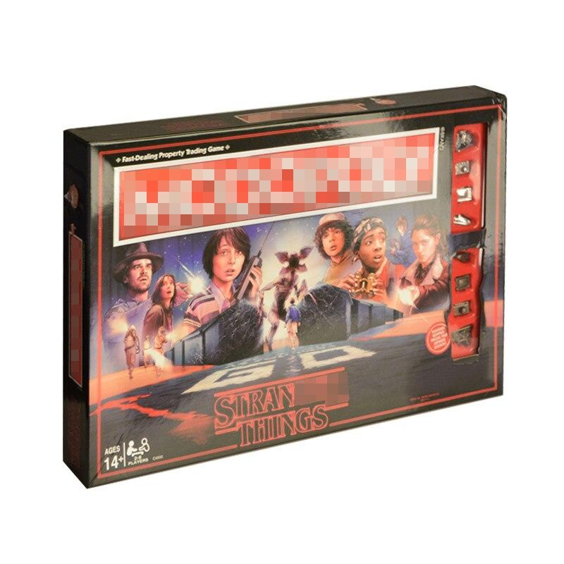 Étranger choses Monopoli jeu de société divertissement carte jeu Puzzle famille jeu pour enfants - 2
