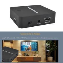 USB 2.0 Analog Video Recorder AV Capture Video Tapes Transfers to Digital Format VHS To Digital Converter for For Hi8,DVD,VCR