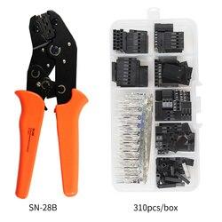 SN-28B 310 шт./620 шт. набор обжимных щипцов dupont jst xh обжимные плоскогубцы терминал наконечник инструмент для обжимки клемм зажим набор инструмент...