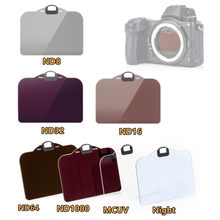 Clip-in CMOS Protector MC UV ND8 ND16 ND32 ND64 ND1000 Night Neutral Density Filter for Nikon Z 7 6 Z6 Z7 II Z5 Clip in