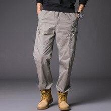 Summer Trousers Pants Spring Elastic-Waist Male Men Autumn Lightweight Casual Thin