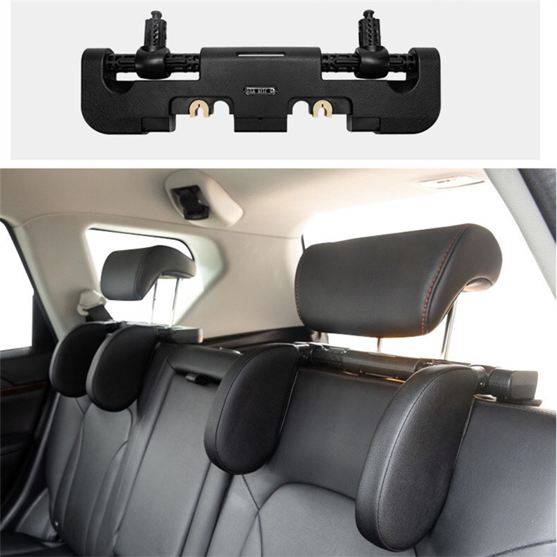 New car seat headrest car neck pillow sleep side head support high elastic nylon telescopic support side kids and adults
