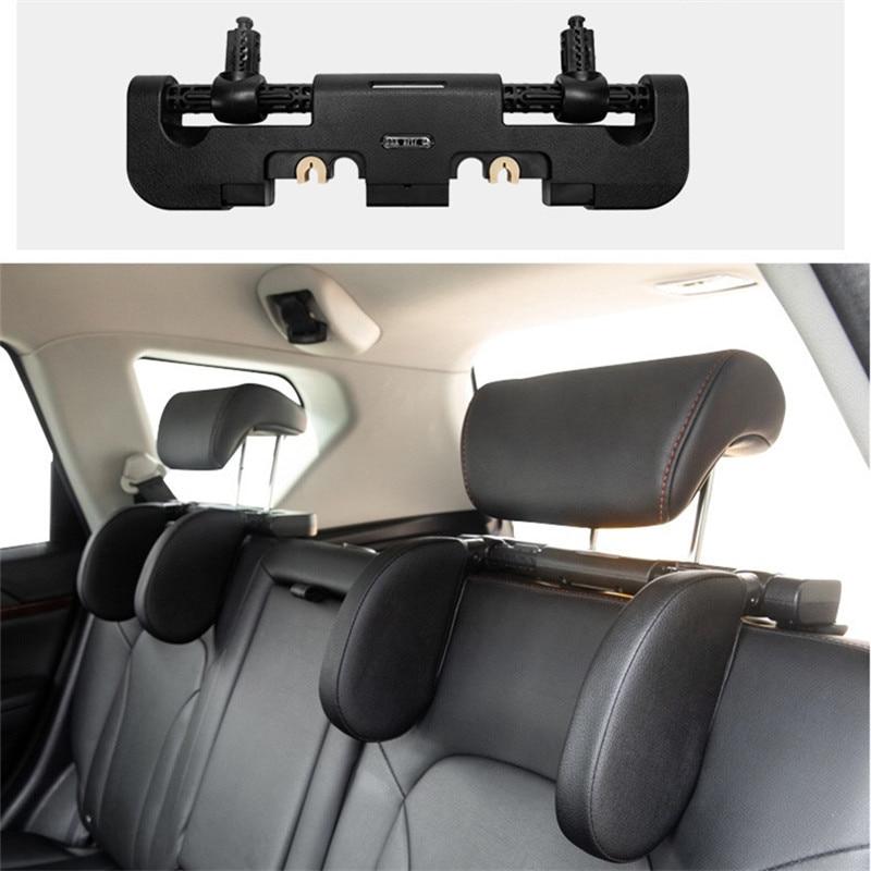 Novo assento de carro encosto de cabeça do carro pescoço travesseiro sono lado apoio cabeça alta elastic náilon telescópico apoio lateral crianças e adultos