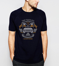 TV Show Movie T Shirt Back to the Future Print C