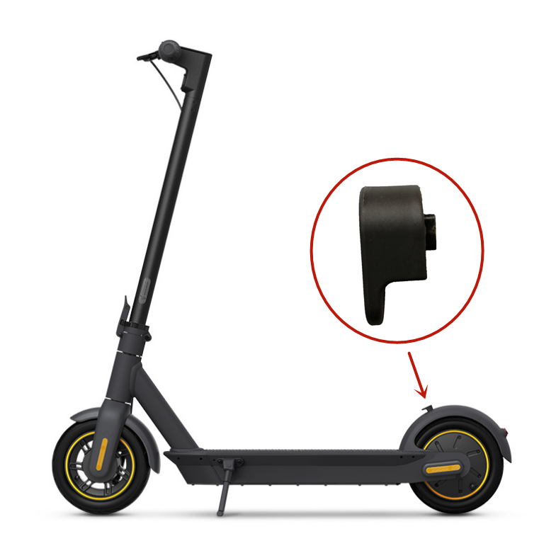 Black Front//Rear Fender ABS for Ninebot Max G30 Electric Scooter