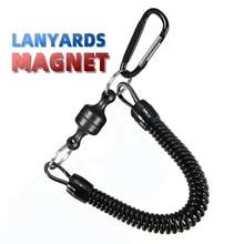 낚시 및 야외 및 하이킹 자석 끈 고정 밧줄 릴리스 홀더 플라이어 립 그립 태클 도구 플라이 낚시 액세서리