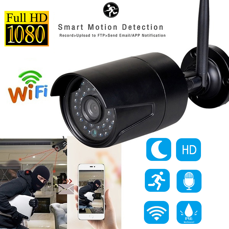 1080P IP Onvif Camera Wifi Outdoor Speed Dome Wireless Wifi Security Camera 4X Digital Zoom Network CCTV Surveillance Camera