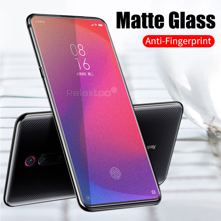 mi9t <font><b>glass</b></font> mi9 mi9se mi8 mia2 <font><b>mia1</b></font> screenprotect matte frosted tempered <font><b>glass</b></font> for <font><b>xiaomi</b></font> mi 9t pro 9 t se 9se 8 a2 lite a1 play image