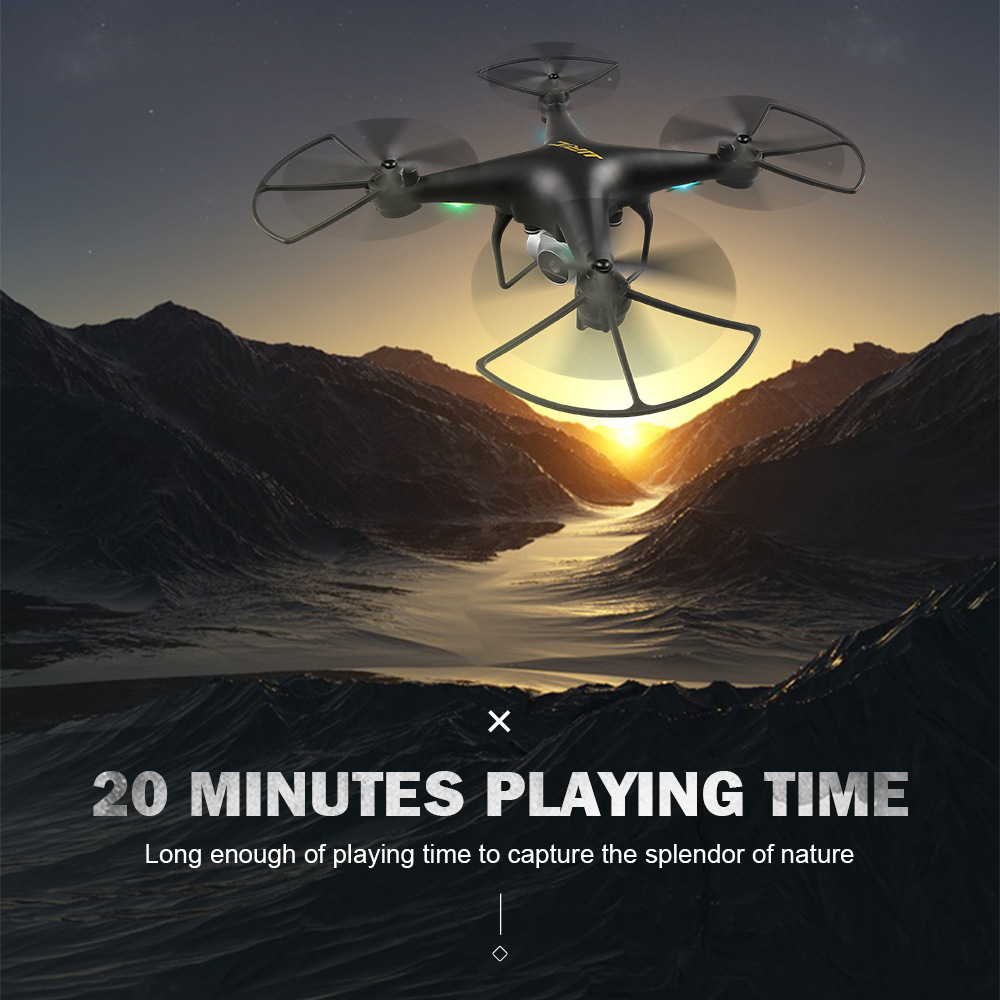 Jjrc H68 Quadcopter Remote-controlled Unmanned Vehicle Long Life High-definition Aerial Photography WiFi Real-Time Image Transmi