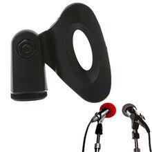 1 шт. Микрофон подставка гибкий пластик Майк зажим микрофон держатель штатив кронштейн портативный микрофон подставка